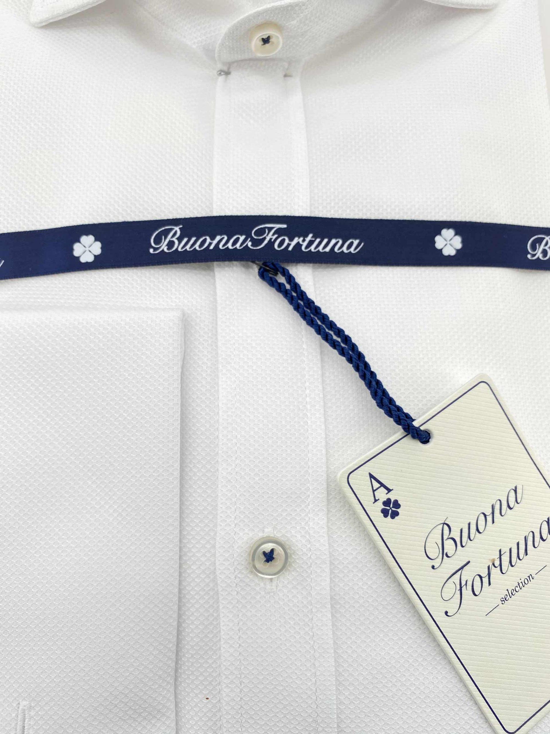 camisas buona fortuna comprar online camisas italianas exlusivas blanca nido de abeja shop
