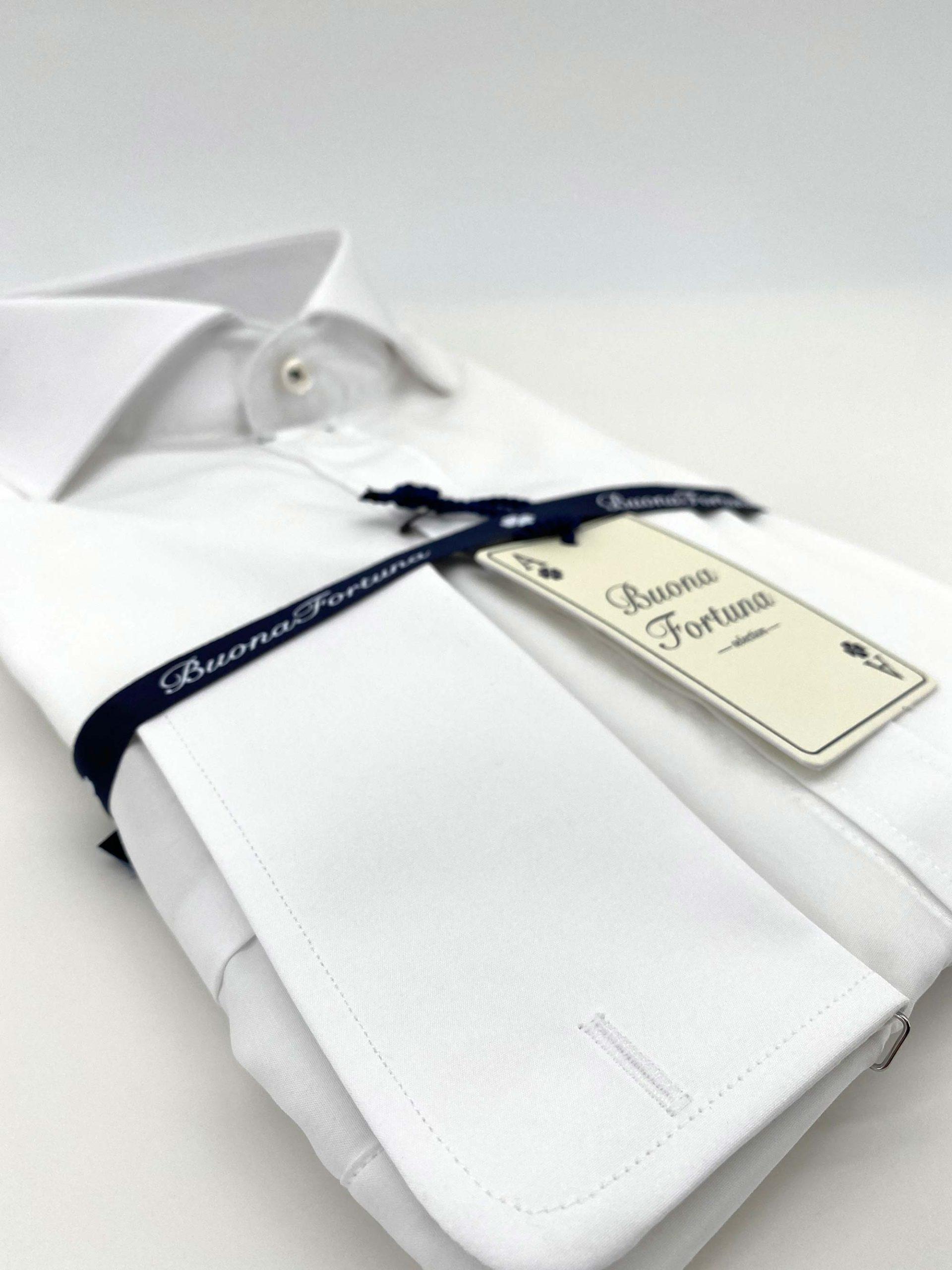 camisas buona fortuna comprar online camisas italianas exlusivas blanca popelin