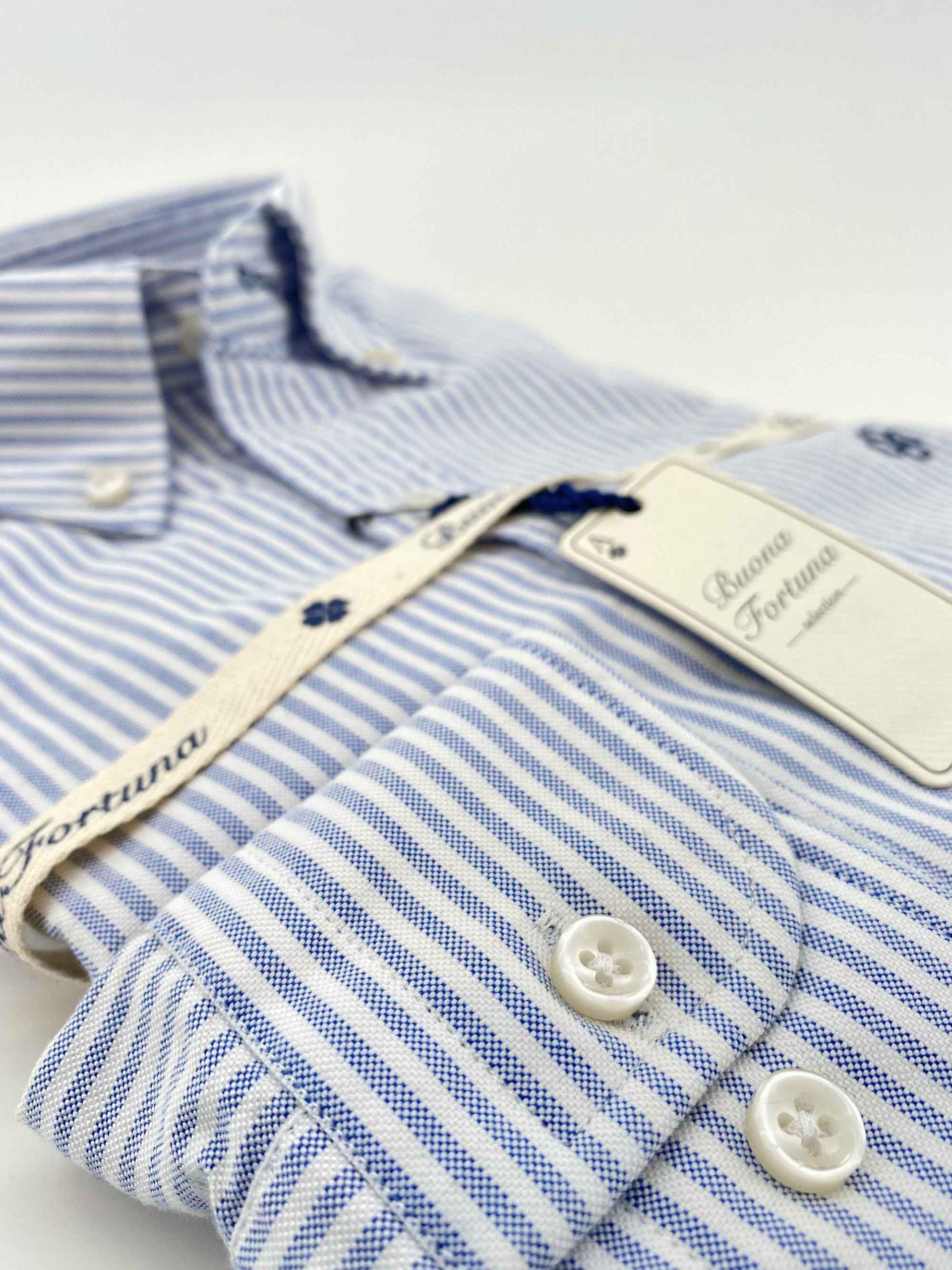 camisas-buona-fortuna-comprar-online-camisas-italianas-exlusivas-oxford-gruesa-raya-fina-detalle-8