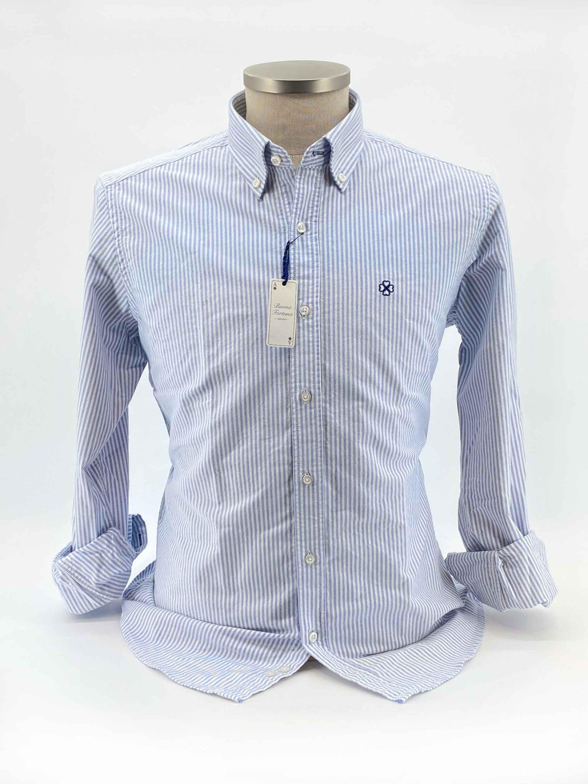 camisas buona fortuna comprar online camisas italianas exlusivas oxford-gruesa raya fina shop busto