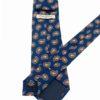 corbata tejida twill buona fortuna comprar online corbatas italianas exclusivas shop cashmere naranja azul