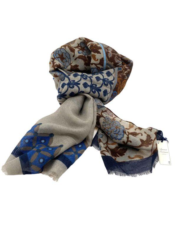 pashmina buona fortuna exclusivas comprar online moda italiana foulards shop ocres marino piedra