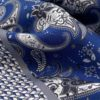pochettes seda buona fortuna panuelos exclusivos comprar online moda italiana panuelo estampado azul gris mosaico shop