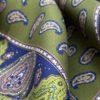 pochettes seda buona fortuna panuelos exclusivos comprar online moda italiana panuelo estampado verde azul shop detalle