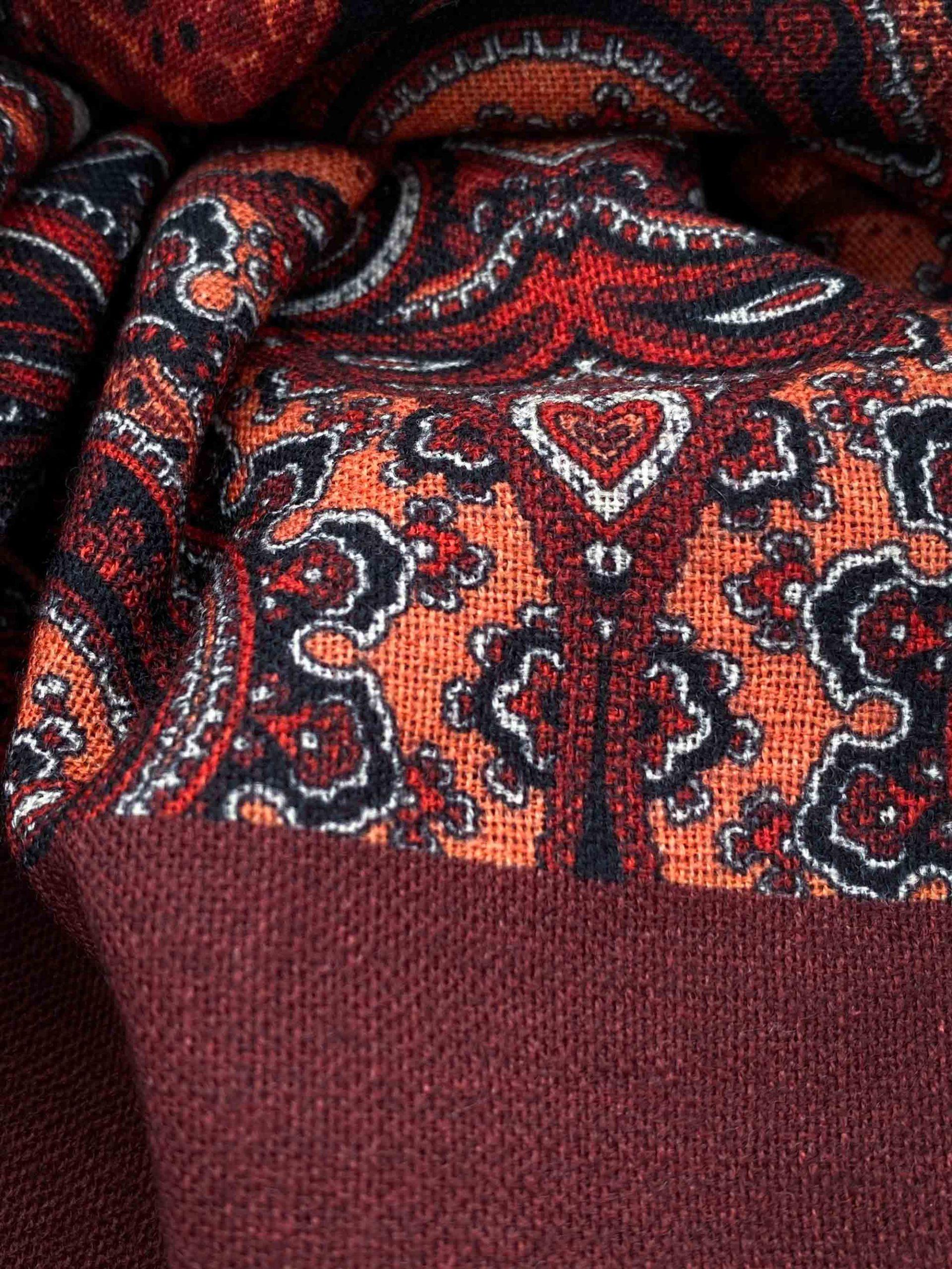 pashmina buona fortuna exclusivas comprar online moda italiana foulards shop cashmeres tejas naranjas