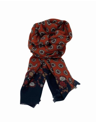 pashmina buona fortuna exclusivas comprar online moda italiana foulards shop circulos naranja quemado marinos