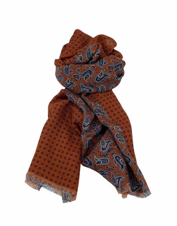pashmina buona fortuna exclusivas comprar online moda italiana foulards shop paramecios teja marino gris