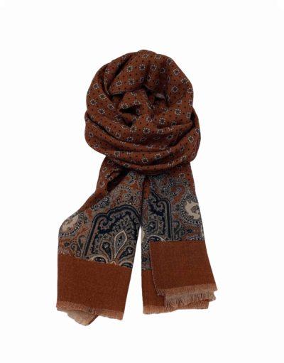 pashmina buona fortuna exclusivas comprar online moda italiana foulards shop topos beige marino teja