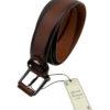 cinturon piel buona fortuna comprar online cinturones exclusivos shop marron