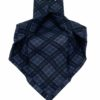 corbata lana siete pliegues buona fortuna comprar online corbatas italianas exclusivas shop azul marino y gris azulado