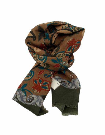 pashmina buona fortuna exclusivas comprar online moda italiana foulards shop flores camel rojos y verdes