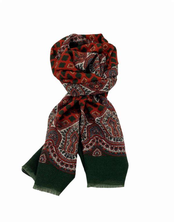 pashmina buona fortuna exclusivas comprar online moda italiana foulards shop flores cashmeres rojo verde ingles