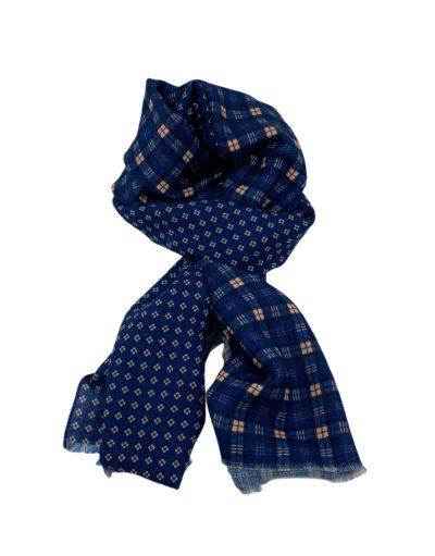 pashmina buona fortuna exclusivas comprar online moda italiana foulards shop fondo cuadros motivos corbateros azules