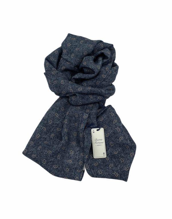 pashmina buona fortuna exclusivas comprar online moda italiana foulards shop fondo espiga gris y marino