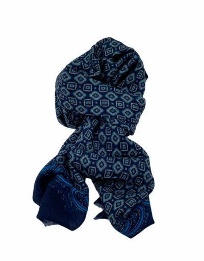 pashmina buona fortuna exclusivas comprar online moda italiana foulards shop motivos corbateros amebas azulonas