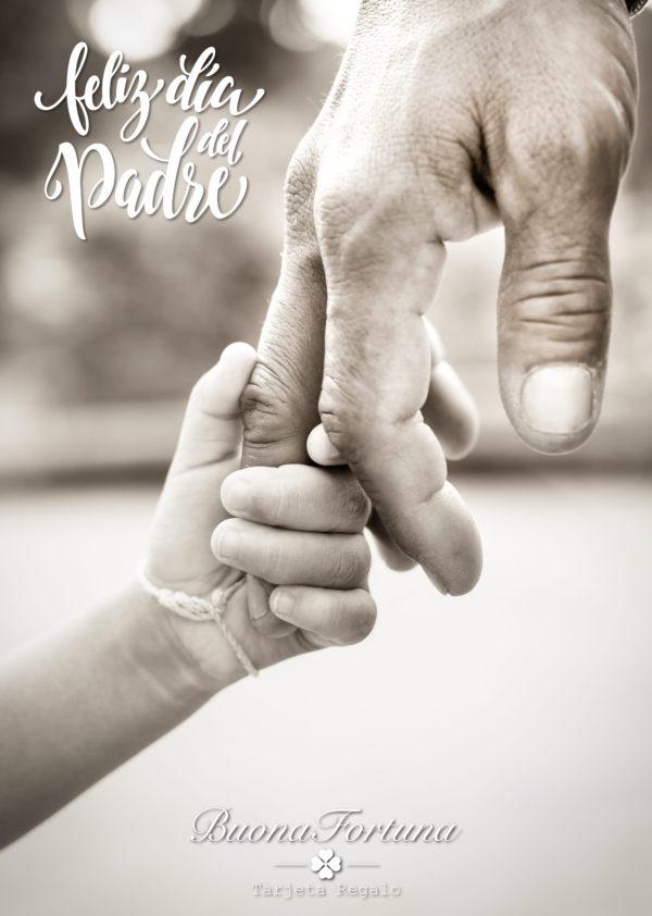 tarjeta regalo feliz día del padre buona fortuna