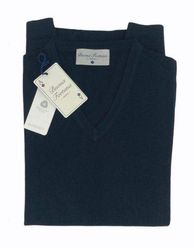 jersey buona fortuna comprar online jerseis italianos exlusivos azul marino cuello pico shop