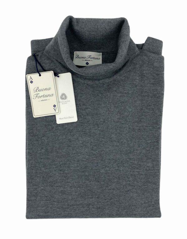 jersey buona fortuna comprar online jerseis italianos exlusivos gris cuello cisne shop